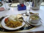 インドネシア、ある日の昼食